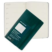 Moleskine - 2016 Large Green Hardcover Weekly Diary