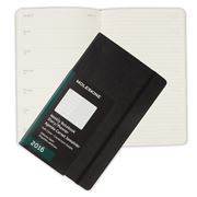 Moleskine - 2016 Large Black Softcover Weekly Diary