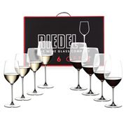 Riedel - Veritas Cabernet/Chardonnay Pay 6 Get 8 Pack