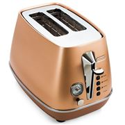DeLonghi - Distinta Copper 2 Slice Toaster