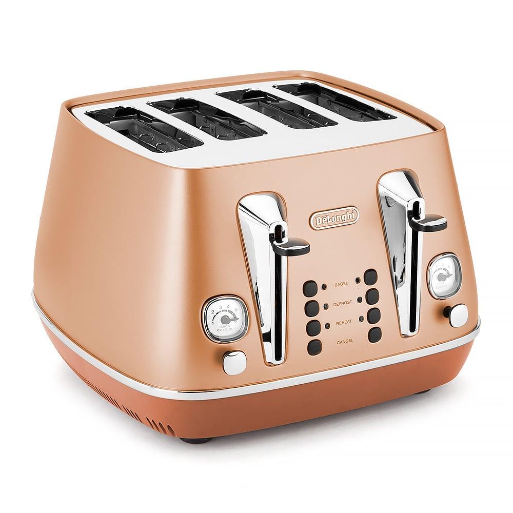 DeLonghi - Distinta Copper 4 Slice Toaster | Peter's of Kensington: petersofkensington.com.au/public/delonghi-distinta-copper-4-slice...