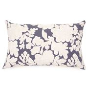 Maison - Velvet Bella Ecru and Cobalt Cushion 30x50cm