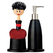 Vigar - Katia Doll Soap Dispenser Set 3pce