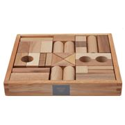 Wooden Story - Natural Building Blocks Set 30pce
