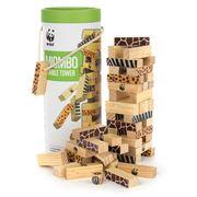 WWF - Miombo Tumble Tower Blocks Set 48pce