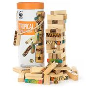 WWF - Tropical Tumble Tower Blocks Set 48pce