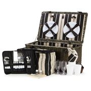 Satara - Willow Picnic Basket Set For Six