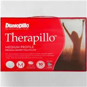 Dunlopillo - Therapillo Medium Premium Memory Foam Pillow