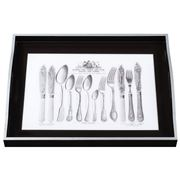Whitelaw & Newton - Cutlery On Black Large Tray