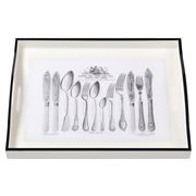 Whitelaw & Newton - Cutlery On White Large Tray
