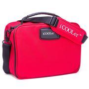 iCOOLer - Medium Red Lunch & Beverage Cooler Bag
