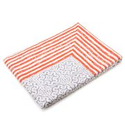 Linen & Moore - Khalo Brick Red Medium Tablecloth 150x220cm