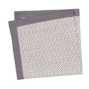 Linen & Moore - Dali Grey Herringbone Napkin