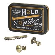 Gentlemen's Hardware - Hold It Together Cufflinks & Tie Clip