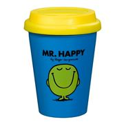 Roger Hargreaves - Mr Happy Travel Mug