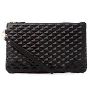 Mighty Purse - Diamond Black Purse w/ Built-in Phone Charger