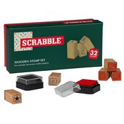 Scrabble - Wooden Stamp Set