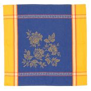 French Linen - Caprice Jacquard Yellow Napkin