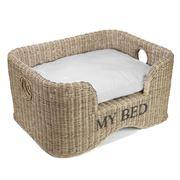 Maison - Vintage Rattan Dog Bed