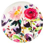 Ary Trays - Bluebell Rose Grey Round Tray 49cm