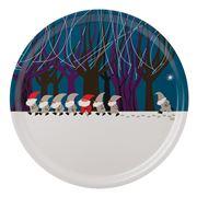 Ary Trays - Santa Parade Round Tray 31cm