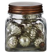 Rogue - Mini Antique Silver Bauble Jar