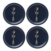 Ary Home - Cutlery Coaster Set Slate 4pce