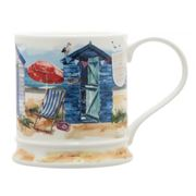 Dunoon - Iona Seaside Beach Huts Mug