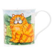 Dunoon - Bute Comical Cats Ginger Mug