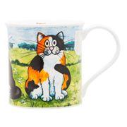 Dunoon - Bute Comical Cats Tortoiseshell Mug