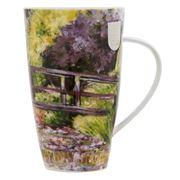 Dunoon - Henley Impressionists Bridge Over A Pond Mug