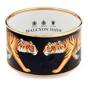 Halcyon Days - Magnificent Wildlife Tiger Medium Bangle