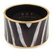 Halcyon Days - Zebra Print Bangle Medium