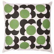 Orla Kiely - Shadow Flower Grass Green Cushion 59x59cm
