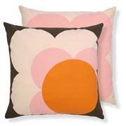 Orla Kiely - Big Spot Shadow Flower Nutmeg Cushion