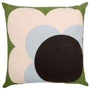 Orla Kiely - Big Spot Shadow Flower Grass Green Cushion