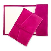 Montepelle - Amalfi Raspberry Refill Leather Journal 9x13cm