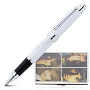 Acme Studios - White Album Rollerball Pen & Card Case Set