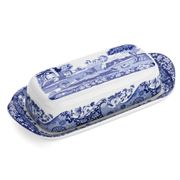 Spode - Blue Italian Covered Butter Dish