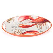 Michel Design - Lobster Medium Metal Tray
