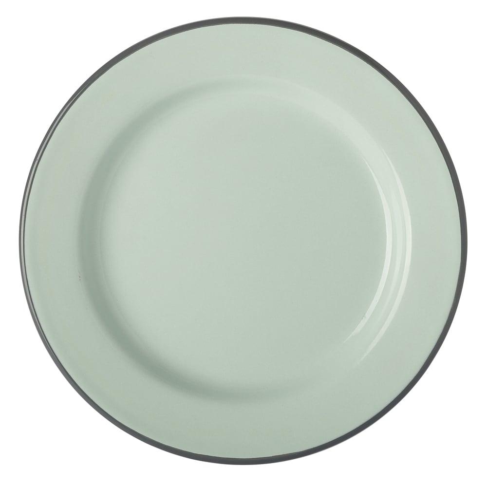 sc 1 st  Peter\u0027s of Kensington & Falcon - Duck Egg Blue Enamel Dinner Plate 26cm   Peter\u0027s of Kensington
