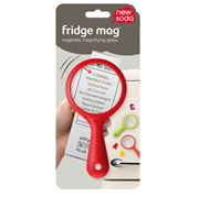 New Soda - Fridge Magnet Red