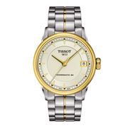 Tissot - Luxury Powermatic 80 Gold & Steel Watch