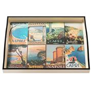 Whitelaw & Newton - Amalfi On Cream Large Tray