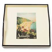 Whitelaw & Newton - Amalfi On Cream Small Square Tray