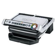 Tefal - OptiGrill with Bonus Comfort Touch Chef's Knife