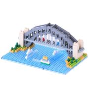 Nanoblocks - Sydney Harbour Bridge Model