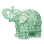 Mario Luca Giusti - Elephant Turquoise S Ceramic-Look Candle