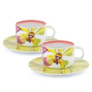 Missoni Home - Flowers Coffee Cup & Saucer Set 2pce