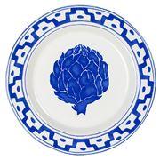 Oscar de la Renta - Blue Artichoke Salad Plate